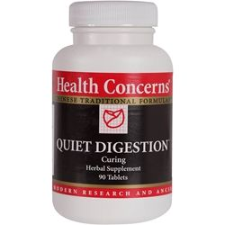 A Chinese herbal remedy for gastric distress, nausea, diarrhea, regurgitation, abdominal distension, poor appetite.