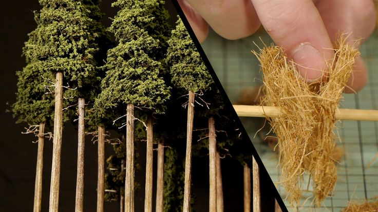 Pine trees are found all over the world which makes them a great tree to model on any model railroad or model diorama. In this tutorial I'll show you a simpl...