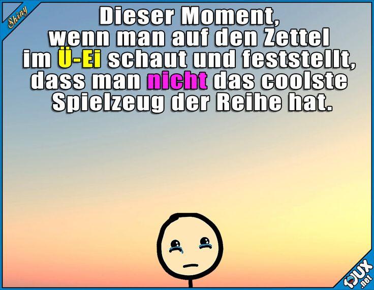Ein sehr trauriger Moment x.x #Kinderüberraschung #Kindheit #Humor #lachen #Kindheitsmomente #Memes #lustigeMemes #Kinder #traurig #Witze
