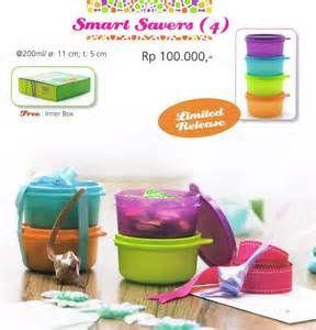 Smart Savers (4) Tupperware Katalog Promo Murah
