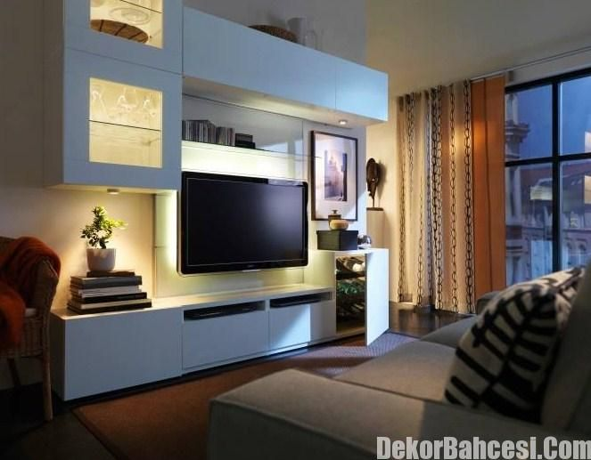7 best Meuble TV Besta ikea images on Pinterest Living room ideas - Wohnzimmer Ikea Besta