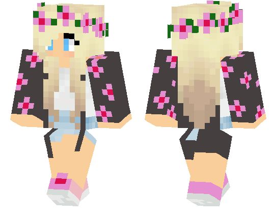 pretty girl skins minecraft pe - Google Search