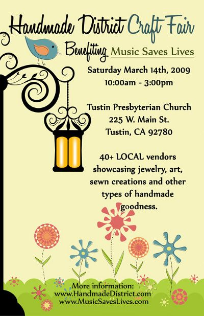 examples of craft fair flyers   Google Search. 17 Best images about Trowelers Garden Club on Pinterest