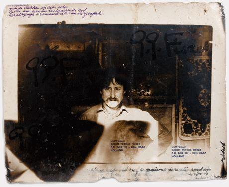 Gerard Fieret: self portrait