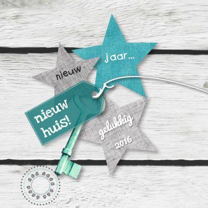 Verhuis- & nieuwjaar eigen txt 1 #verhuiskaart #nieuwjaarskaart #adreswijziging