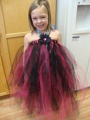 My World - Made By Hand: DIY Tutu Halter Dress {tutorial}