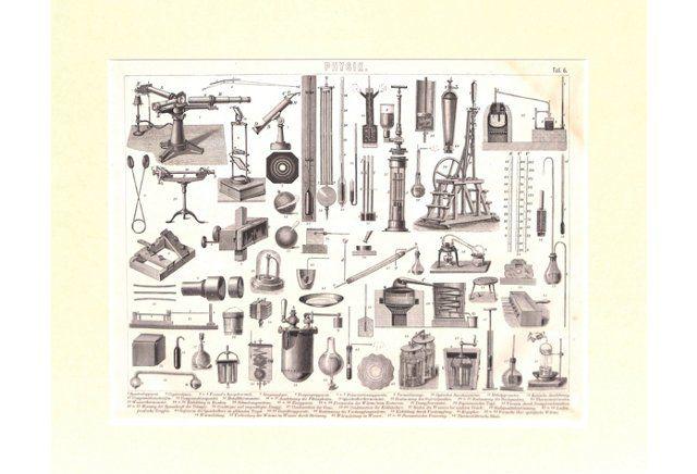Lab Instruments, Physics, 1850