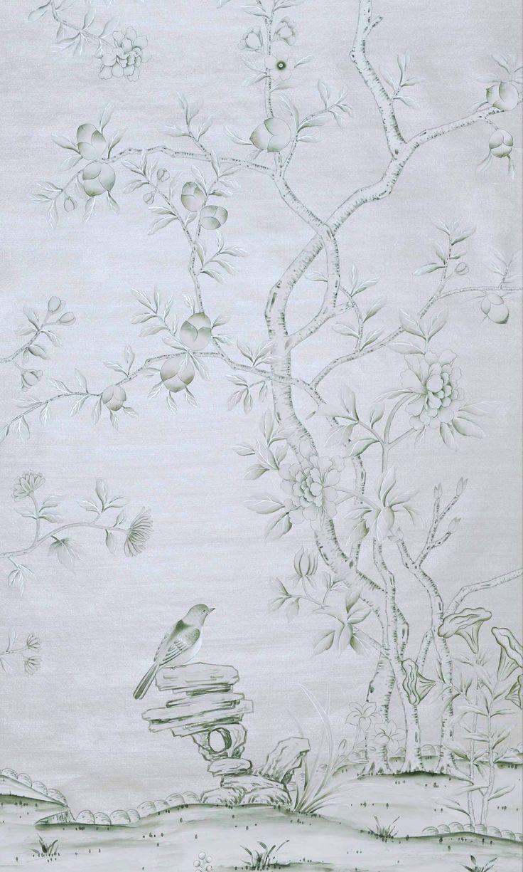 colourways - Chinoiserie, Handmade Wallpaper - Fromental