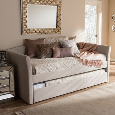 Wholesale Interiors Baxton Studio Serena Daybed with Trundle Finish: