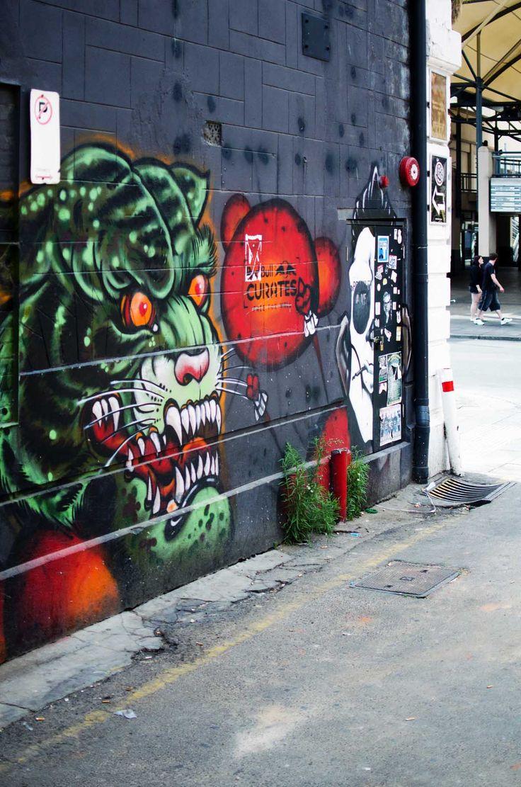 Mural in Adelaide | heneedsfood.com