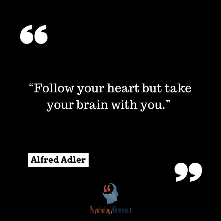 Follow Heart Or Mind Quotes: 25+ Trending Psychology Tattoo Ideas On Pinterest