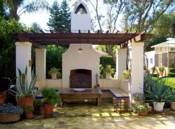 Pergola Spanish Style House Spanish Homes Pinterest