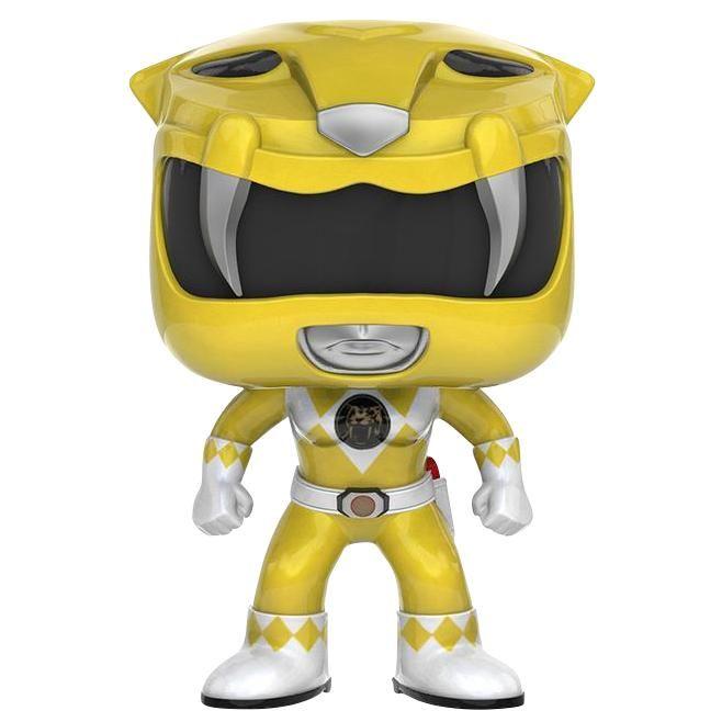 Statuetta decorativa Yellow Ranger del brand Funko collezione Pop!.