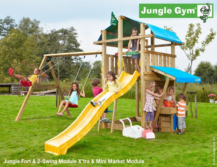 16 best playsets images on pinterest chair swing swing for Mini swing set