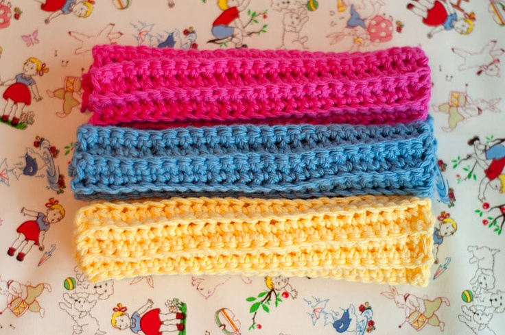 Tutorial for making beginner Crochet washcloths