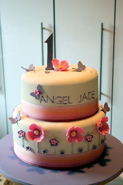 Sweet cake for a little girl's Birthday
