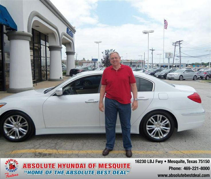 #HappyAnniversary to Mike G Griffin on your 2012 #Hyundai #Genesis from everyone at Absolute Hyundai!