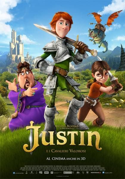 Justin e i cavalieri valorosi -  #bluray #3d by #DVDlab Distributed by @Kmedia2    Follow DVDlab on #Facebook - https://www.facebook.com/pages/DVDlab/19069528431    #film #cartoon #graphic #bd #dvd #cinema #KochMedia