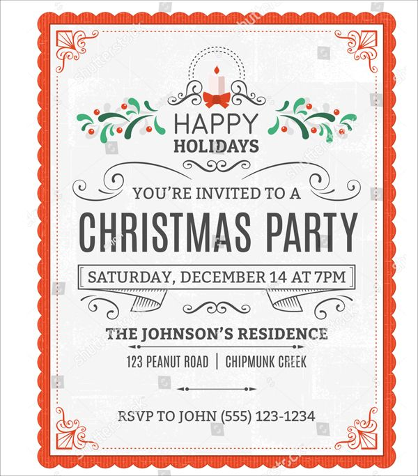 34 Christmas Party Invitation Templates Free Psd Christmas Party Invitation Template Christmas Party Invitations Free Christmas Party Invitations Printable