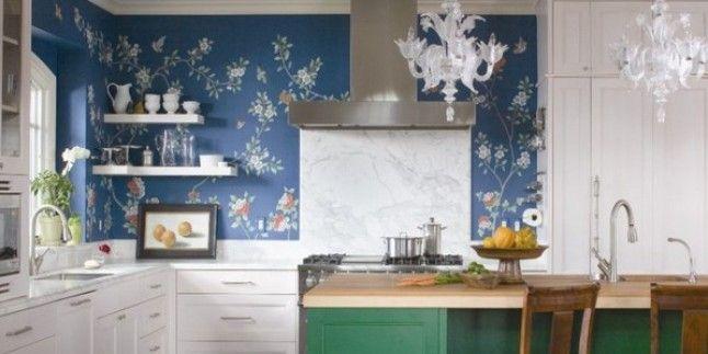 Mutfak Dekorasyonu için Duvar Kağıtları