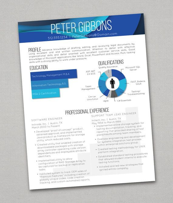 17 best images about creative awesome resumes on
