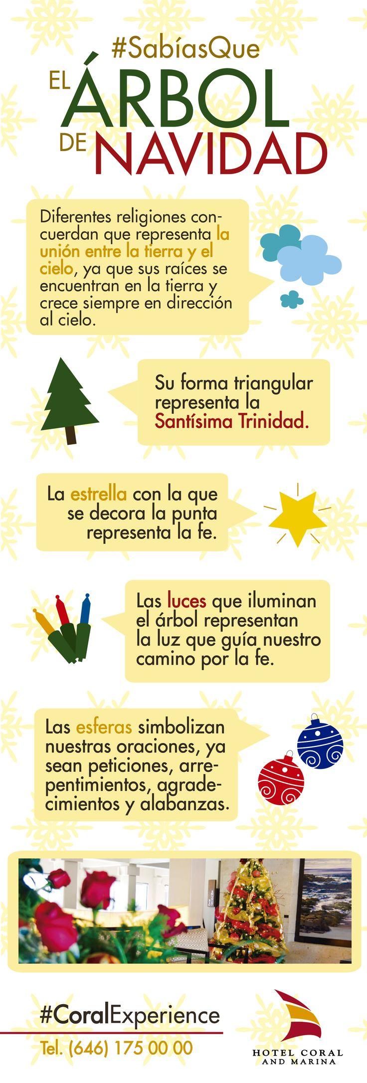 #SabiasQue El significado del árbol de navidad. Vive las épocas decembrinas en #Ensenada Vive el #CoralExperience