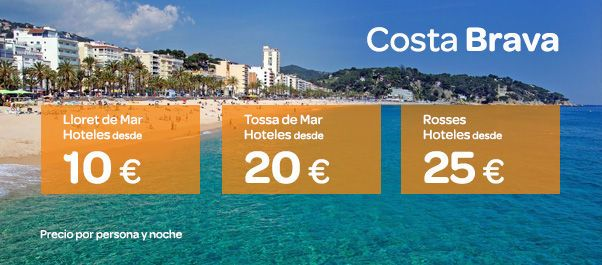 Ofertas de hotel en la Costa Brava