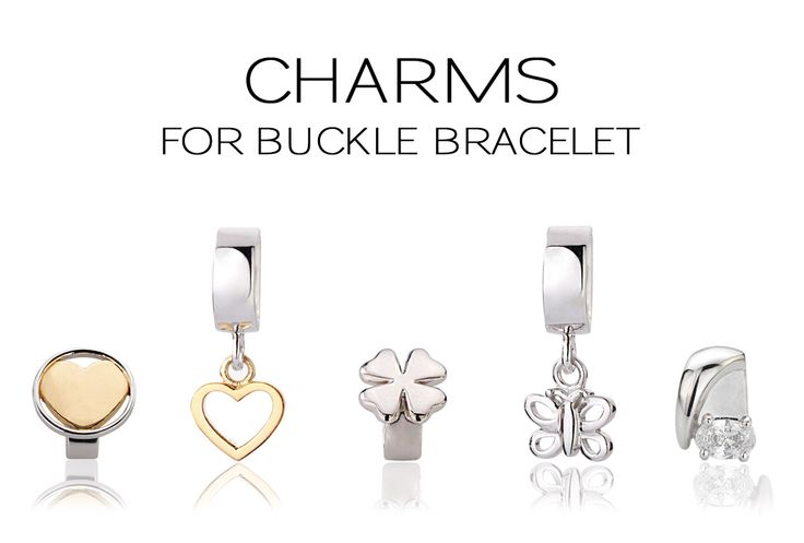 Charms for buckle bracelet