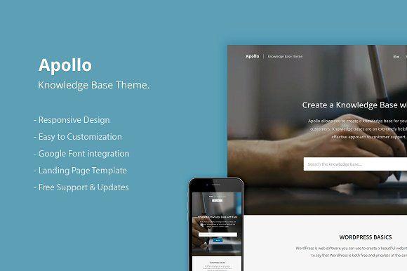 Knowledge Base WordPress Theme by OriginalThemes on @creativemarket