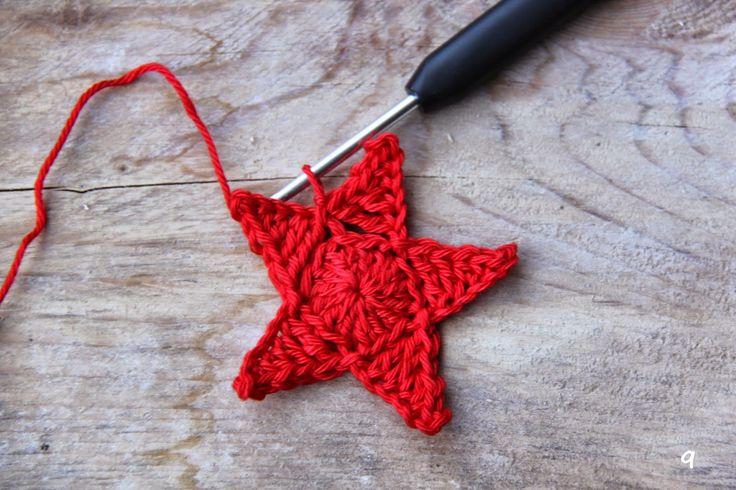 Ak at home : crochet * patroon sterdeken