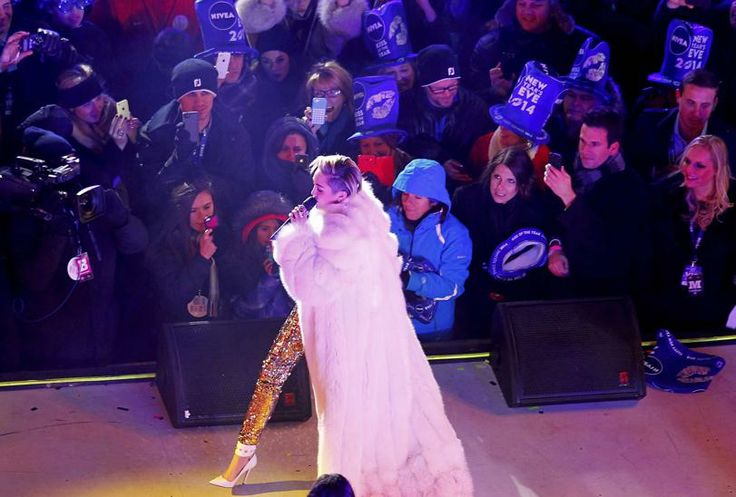 Miley Cyrus, New Year's Eve, Times Square New year