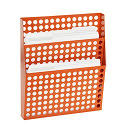 Mail: Circuit Wall, Container Store, Offices, Paper, File Orange, Wall File, Orange Wall, Storage