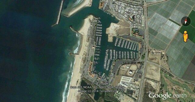 Ventura West Marina in Ventura, Ca
