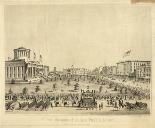 Lincoln's Traveling Funeral: Procession in Ohio