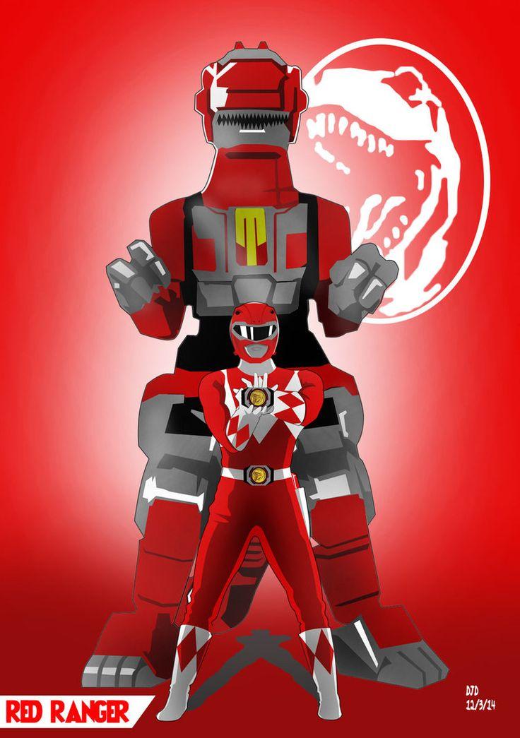 Red Ranger (MMPR)/Tyranno Ranger by M3trisjm92 on DeviantArt