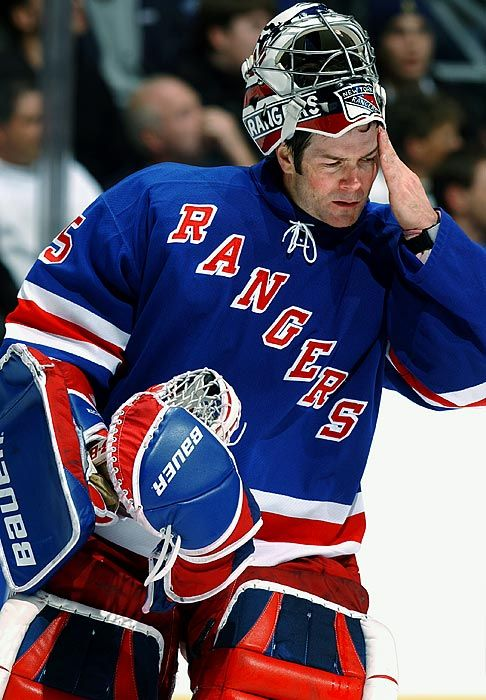 Mike Richter, New York Rangers