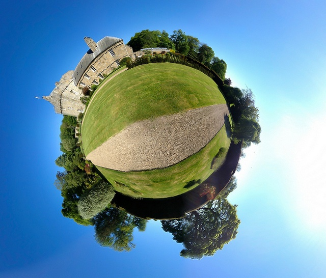 Shortflatt Tower mini planet