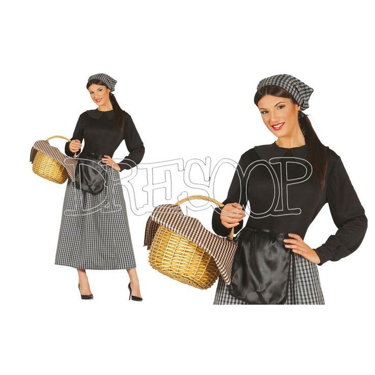 Disfraz Castañera para mujer - Dresoop.es