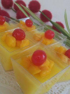 枫林温馨花园   Maple Grace Garden                                                              : ~~~  Manggo Pudding   芒果布丁   ~~~