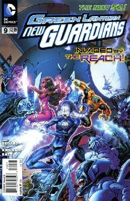 Green Lanterns - New Guardians #9 Tony Bedard Tyler Kirkham ---> shipping is $0.01!!!