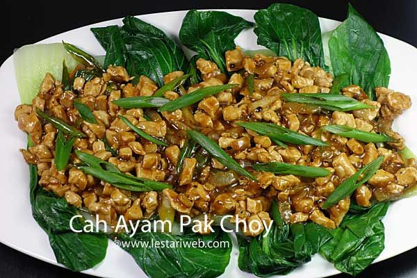 Kumpulan Resep Asli Indonesia Cah Ayam Pak Choy Resep Resep Masakan Cina Resep Resep Masakan