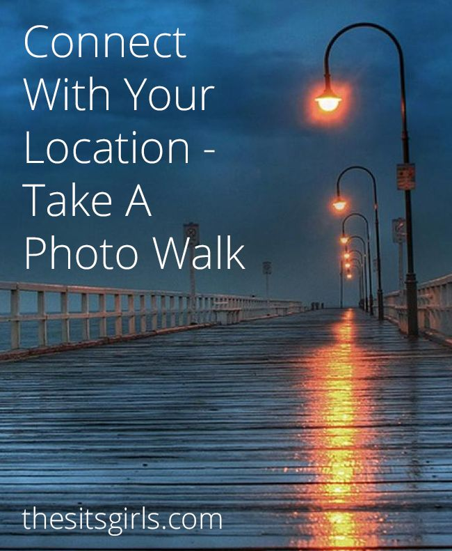 How To Take A Photo Walk | Great photo walk ideas so you can plan ahead for a successful day with your camera. A photo walk is a great way to practice your skills and see your neighborhood or vacation spot in a new way.
