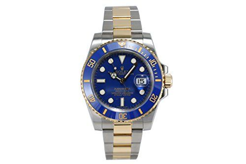 Men's Certified Pre-Owned Watches - Rolex Submariner swissautomatic mens Watch 116613LB Certified Preowned ** You can find out more details at the link of the image. (This is an Amazon affiliate link)