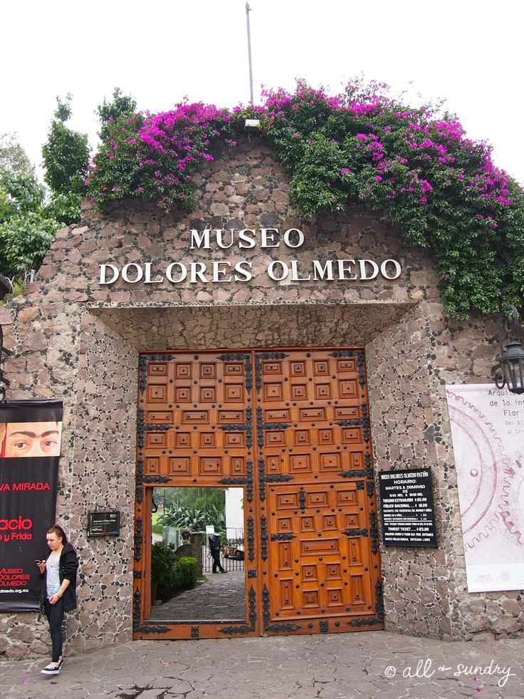 Museo Dolores Olmedo is an amazing old hacienda now full of Art in Mexico City.