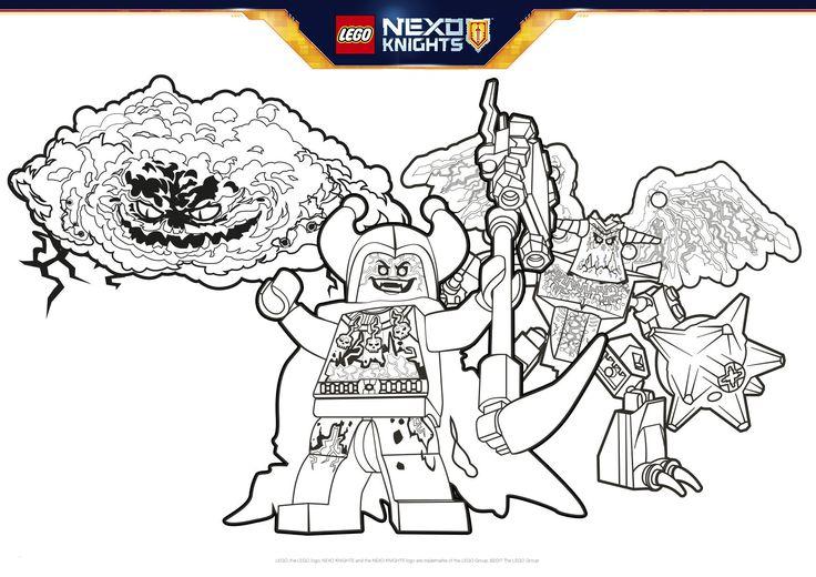 99 einzigartig nexo knights ausmalbilder kostenlos