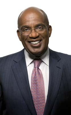 Al Roker--Network TV co-anchor. America's favorite weatherman was born in the US to a Jamaican mother and father of Bahamian descent.