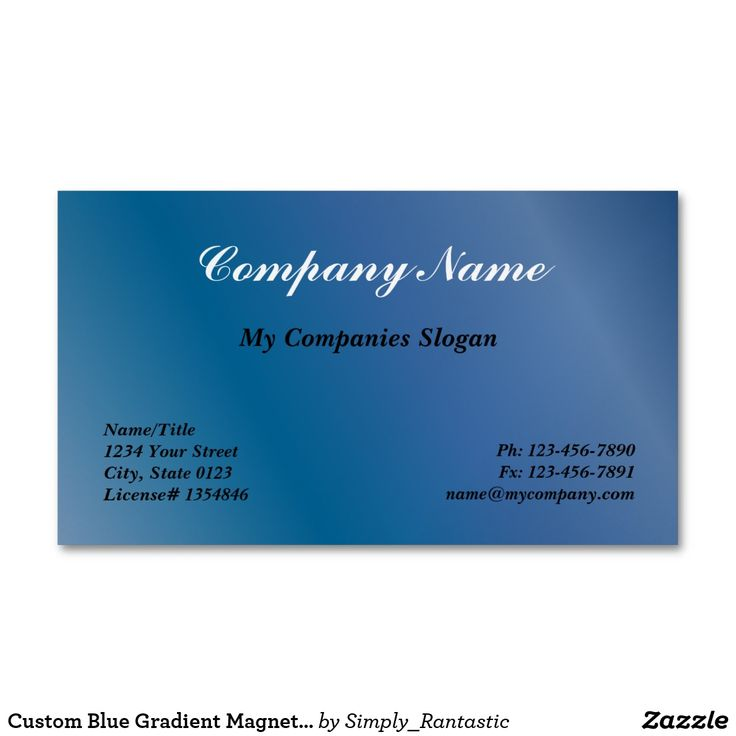 23 best Magnetic Business Cards images on Pinterest | Magnetic ...