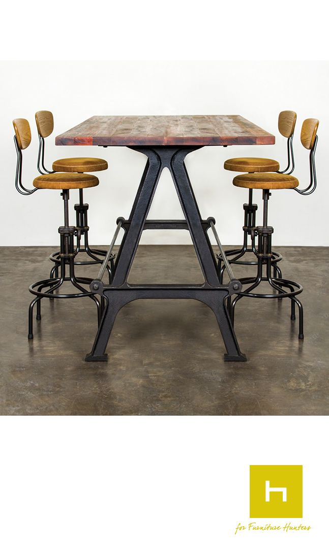 The Kosen Dining Table From District Eight Design Is A Bar Height With
