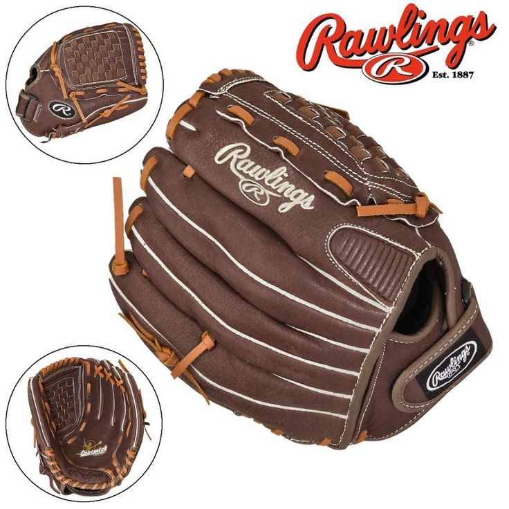 "Rawlings 12"" FP120 Fastpitch Series Leather RHT Softball"
