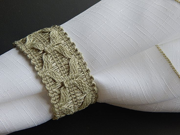 OOAK Rustic Mint Green Cotton Pattern Napkin Rings, Woven Cotton, Spring Wedding, Country Theme, Farmhouse Style, Table Decor, Set of 12 by CustomNapkinRings on Etsy